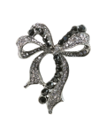 Two-Tone Bow Brooch